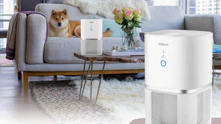 purificador aire yissvic casa