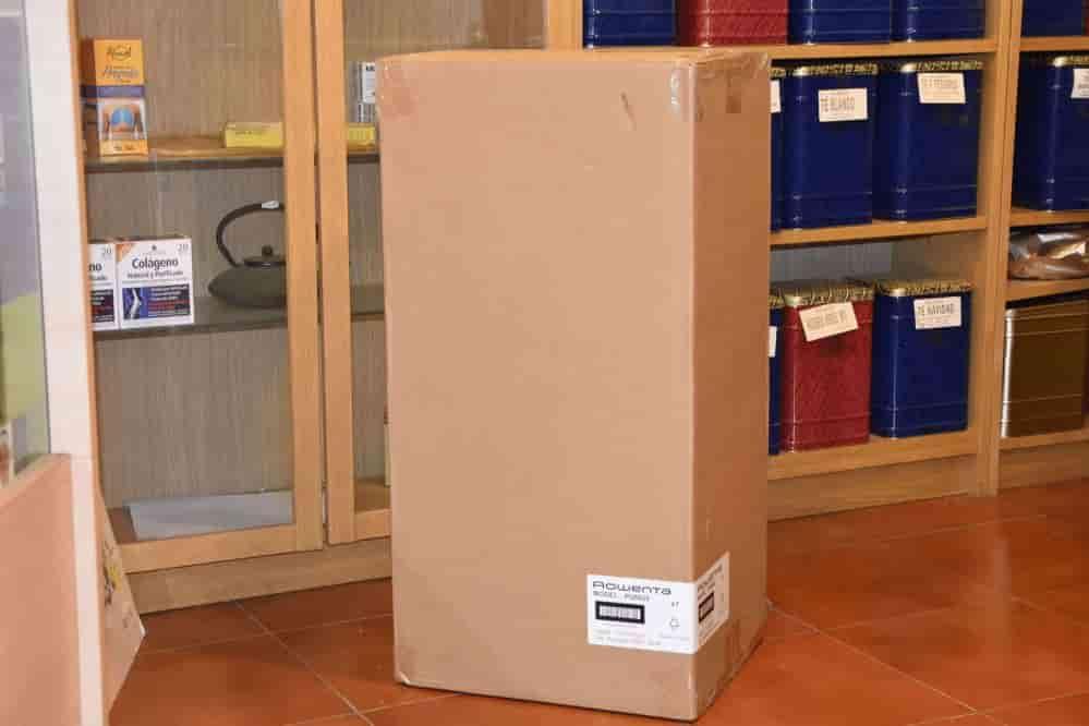 Caja protectora amazon purificador de aire