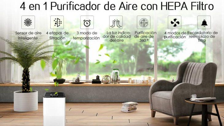 purificadores aire para alergicos