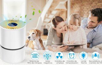 purificador de aire para mascotas